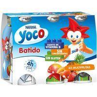 Batido multifrutas NESTLÉ Yoco, pack 6x90 g