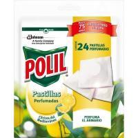 Insecticida cítrico en pastillas perfumadas POLIL, caja 24 uds