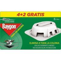 Cebo para cucarachas BAYGON, caja 6 uds