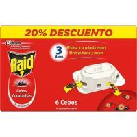 Cebo para cucarachas RAID, caja 6 uds.