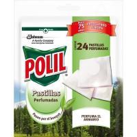 Insecticida paseo bosque en pastillas POLIL, paquete 24 uds.