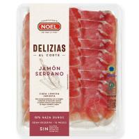 Delizias de jamón serrano sin aditivos NOEL, bandeja 100 g