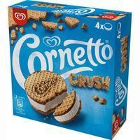 Sandwich Crush CORNETTO, 4 uds., caja 256 g