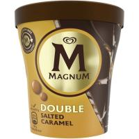 Helado double salted caramelo MAGNUM, tarrina 310 g