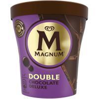 Helado double choco MAGNUM, tarrina 310 g