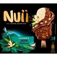 Bombón almendrado-vainilla NUII, 3 uds., caja 201 g
