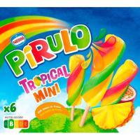 Mini Pirulo tropical PIRULO, 6 uds., caja 300 g