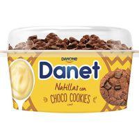 Natillas Topper Crunchy choco DANET, tarrina 124 g