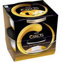 Yogur griego de vainilla-piña OIKOS, pack 2x115 g