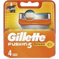 Cargador de afeitar GILLETTE Fusion 5 Power, pack 4 uds.
