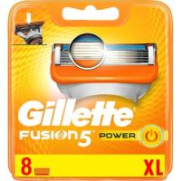Cargador 5 Power GILLETTE Fusion, pack 8 uds.
