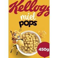 Cereales KELLOGG'S Miel Pop's, caja 450 g