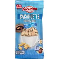 Cacahuete horneado sin sal FACUNDO, bolsa 130 g