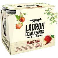 Sidra LADRÓN DE MANZANA, pack 6x33 cl