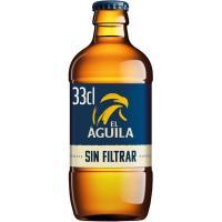 Cerveza sin filtrar EL AGUILA, botellín 33 cl