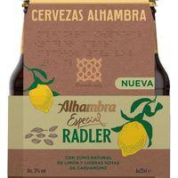 Cerveza Radler ALHAMBRA pack 6x25 cl