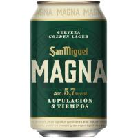 Cerveza Magna SAN MIGUEL, lata 33 cl