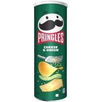 Aperitivo cheese&onion PRINGLES, tubo 165 g