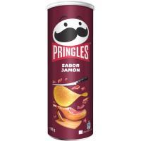 Aperitivo sabor jamón PRINGLES, tubo 165 g