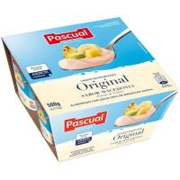Yogur de macedonia PASCUAL, pack 4x125 g