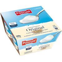 Yogur natural azucarado PASCUAL, pack 4x125 g