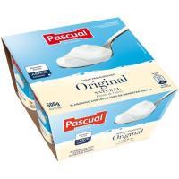 Yogur natural PASCUAL, pack 4x125 g