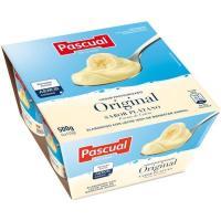Yogur de platano PASCUAL, pack 4x125 g