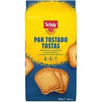Pan tostado-tostas SCHAR, paquete 260 g
