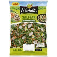 Saltear con champiñones FLORETTE, bolsa 240 g