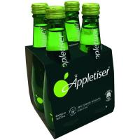 Refresco de zumo de manzana APPLETISER, pack 4x275 ml