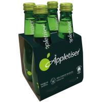 Refresco de zumo de manzana APPLETISER, pack 4x275 ml