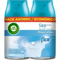 Ambientador flor AIRWICK Fresh Matic, recambio 2 uds.