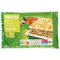 Lasaña vegetal EROSKI, bandeja 500 g