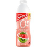 Yogur líquido de fresa-kiwi SVELTESSE, botella 1 litro
