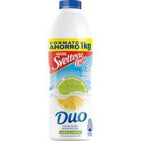 Yogur líquido de lima-limón SVELTESSE, botella 1 litro
