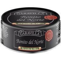 Bonito del norte en aceite de oliva GARAVILLA, lata 266 g