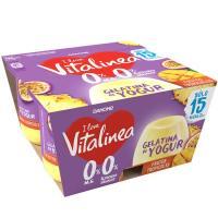 Gelatina tropical VITALINEA, pack 4x120 g