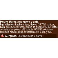 Flan de café EROSKI, pack 4x100 g