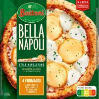 Pizza Bella Napoli 4 quesos BUITONI, caja 425 g