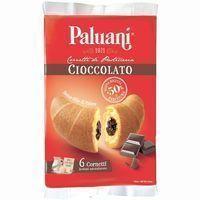 Croissant relleno de crema de chocolate PALUANI, paquete 252 g