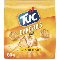 Bakefuls salted TUC, paquete 80 g