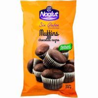 Noglut muffins de chocolate negro SANTIVERI, bolsa 210 g