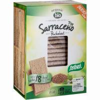Tostadas ligeras de trigo sarraceno bio-n SANTIVERI, caja 100 g