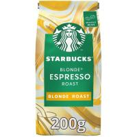 Café en grano Blonde Espresso Roast STARBUCKS, paquete 200 g