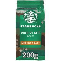 Café en grano Pike Place STARBUCKS, paquete 200 g