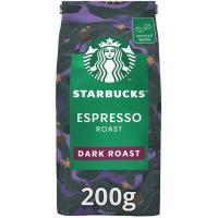 Café en grano Espresso Roast STARBUCKS, paquete 200 g