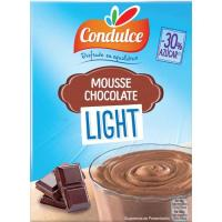 Mousse light de chocolate CONDULCE, caja 50 g