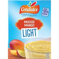 Mousse light de mango CONDULCE, caja 44 g