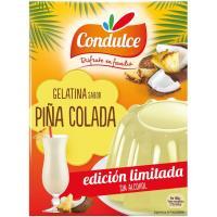 Gelatina de piña colada CONDULCE, caja 170 g