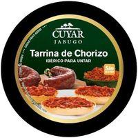 Tarrina de chorizo ibérico para untar CUYAR, tarrina 160 g
